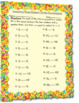 Comparing Mixed Numbers (Unlike Denominators) Worksheet
