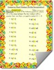 Comparing Mixed Numbers (With Unlike Denominators) Worksheet Assessment