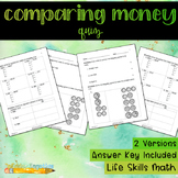 Comparing Money Quiz