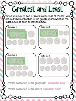Comparing Money Small Group Lesson #2