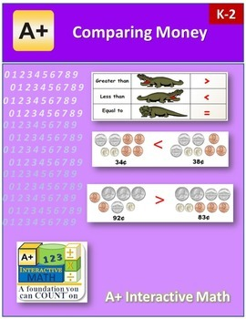 Comparing Money (lesson and a worksheet)