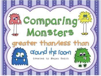 Comparing Monsters: Greater/Less than Around the Room
