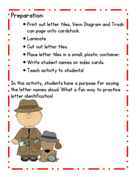 Comparing Names: A Hands-on Letter Identification Activity