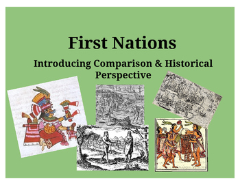 Comparing Native Americans of the Western Hemisphere