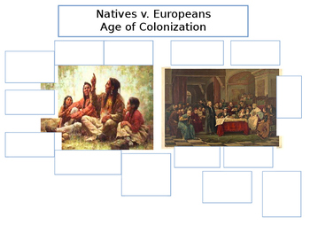 Comparing Natives and Europeans Worksheet
