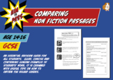 Comparing Non Fiction Passages For GCSE English (14-16 years)