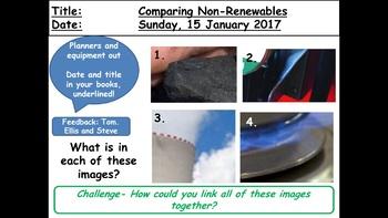 Comparing Non Renewables