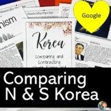 Comparing North Korea and South Korea Activity with Google