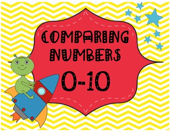 Comparing Numbers 0-10-Alien Invasion