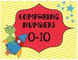 Comparing Numbers 0-10-Alien Invasion
