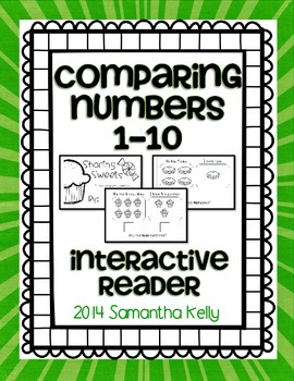 Comparing Numbers Interactive Reader