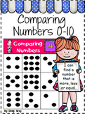 Comparing Numbers 0-10 ~ More Than, Less Than or Equal To
