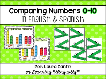 Comparing Numbers 0-10 in Spanish and English
