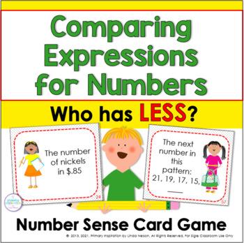 Number Sense 0-100 Card Game