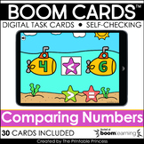 Comparing Numbers Boom Cards™ for Distance Learning Numbers 0-20
