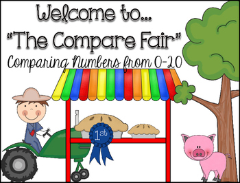 """Comparing Numbers 0-20 """"The Compare Fair"""""""