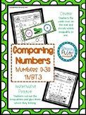 Comparing Numbers 0-30 1.NBT.3 Center and Independent Practice