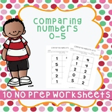 Comparing Numbers 0-5