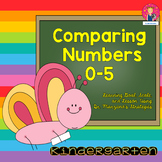 Comparing Numbers 0-5 {Goal, Scale, and Lesson} for Kindergarten