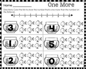 Comparing Numbers 0-5 Printables