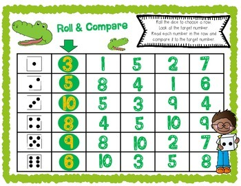 Comparing Numbers 1-50