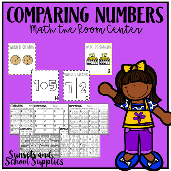 Comparing Numbers 1-10 Math Centers