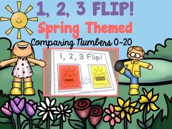 Comparing Numbers 1-20  Spring Theme