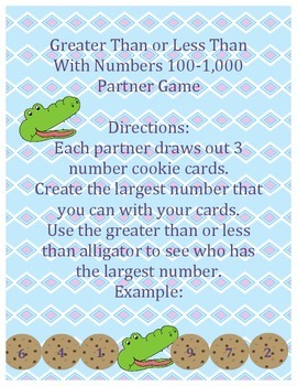 Comparing Numbers 100-1,000