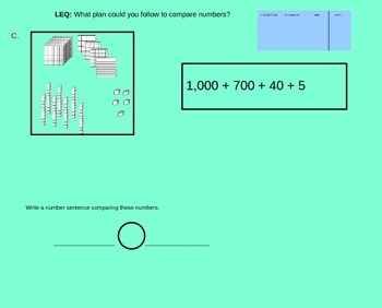 Comparing Numbers using Expanded, Standard, and Written Form