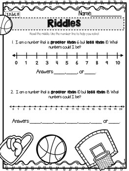 1.NBT.3 Comparing Numbers