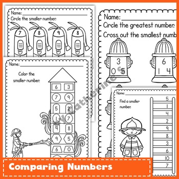 Fire Safety Week Math Activities by Catherine S | TpT