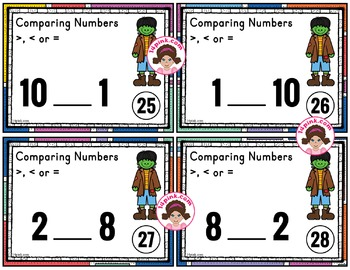 Comparing Numbers to 10 Activities