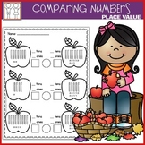 Comparing Two Digit Numbers Worksheets