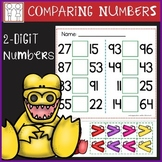 Comparing 2 Digit Numbers