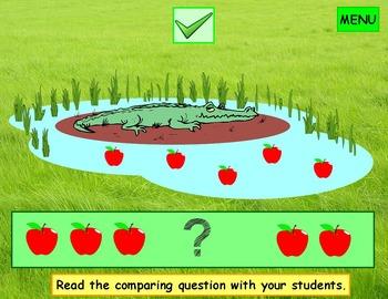 Comparing Numbers Kindergarten First Grade