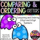 Comparing and Ordering Critters (Virginia SOL 2.1c)
