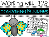 Comparing Numbers to 30 {A Working With Numbers Center}
