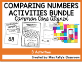 Comparing Numbers Activities BUNDLE (Common Core Aligned)