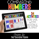 Comparing Numbers Activities for Google and Distance Learning
