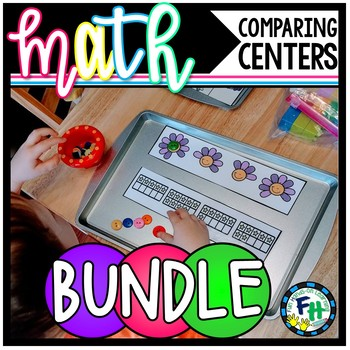 Comparing Numbers Activity Centers {Bundle of 8 Centers}