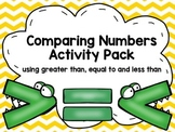 Comparing Numbers Activity Pack