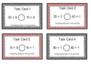 Comparing Numbers: Aligned to Common Core