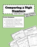 Comparing Numbers Aligns with Grade 2 Module 3