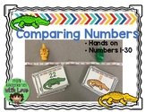 Comparing Numbers Alligator Fun