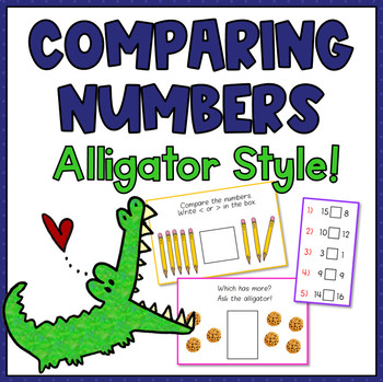 Comparing Numbers, Alligator Style!