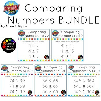 Comparing Numbers BUNDLE: Greater than/Less than