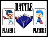 Comparing Numbers Battle Game