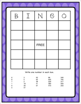 Comparing Numbers 4 Game Bundle - Ones, Tens, Hundreds