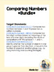 Comparing Numbers Bundle: Task Cards and Card Game
