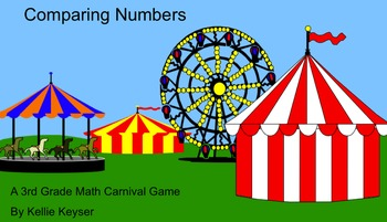 Comparing Numbers Carnival Game - Math Review